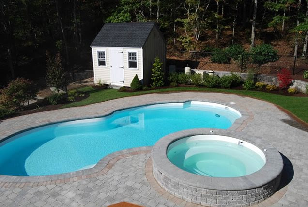 Swimming Pool - Kingston, MA - Photo Gallery - Landscaping Network