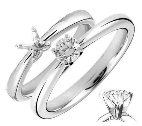 Diamond Engagement Ring   Prong Settings