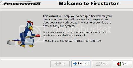 Firestarter wizard