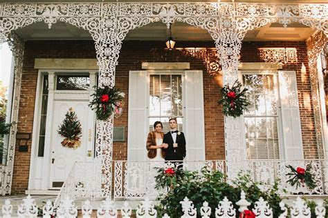 Charming December Wedding in Mobile, Alabama   The