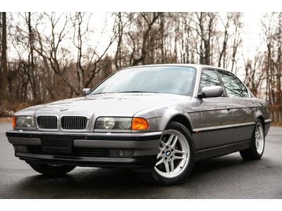 Purchase used 1998 BMW 750IL LONG 5.4L V12 LOW 83K MILES ...
