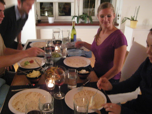 Essen bei Nadine