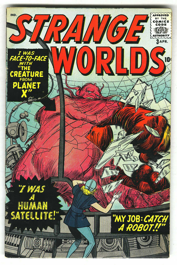 Strange Worlds #3 (Atlas Comics)