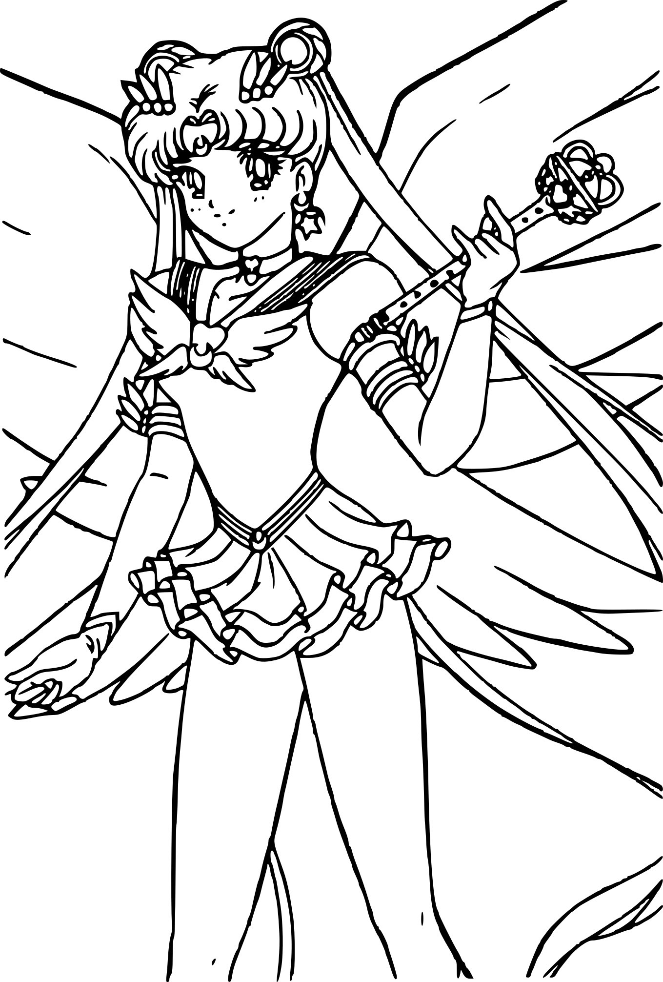 Sailor Moon la guerri¨re