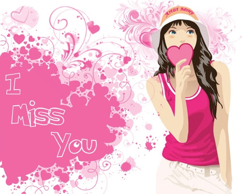 Cute Miss You Free Missing Him Ecards Greeting Cards 123 Greetings