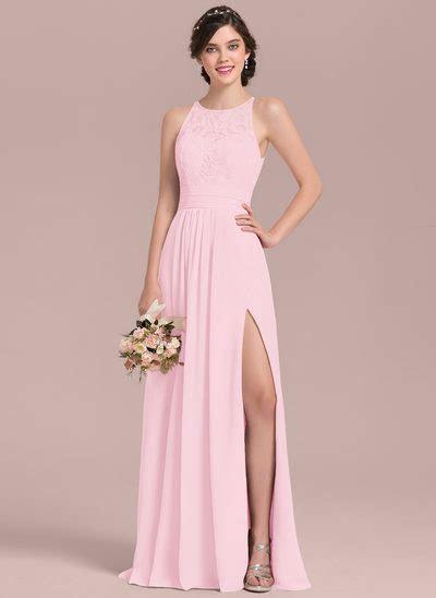 Blush & Blush Pink Bridesmaid Dresses   JJ's House