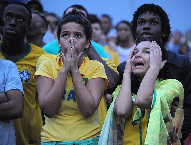 Brazilians in shock: