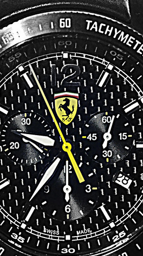 Ferrari Scuderia Chrono Watch