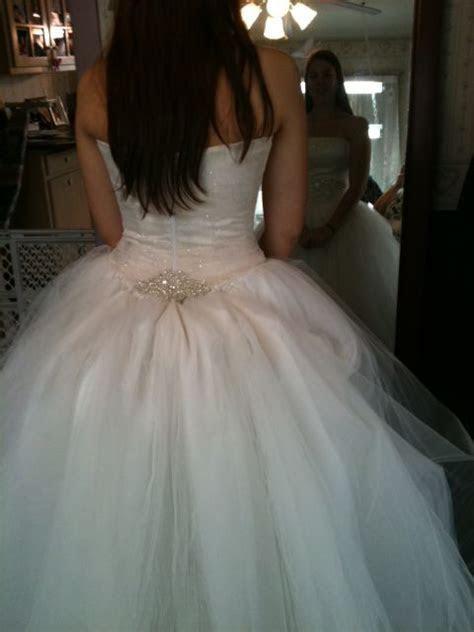 bustle   Wedding Dress   Pinterest   Tulle dress, Tulle