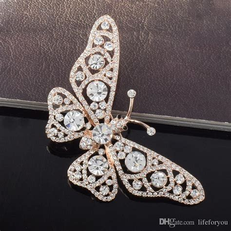 2019 Butterfly Jewelry Cheap Brooches Pins Fashion
