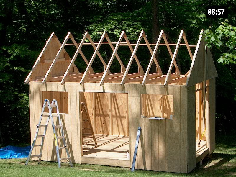 Shed Building Made Easy With Free Plans Cool Design