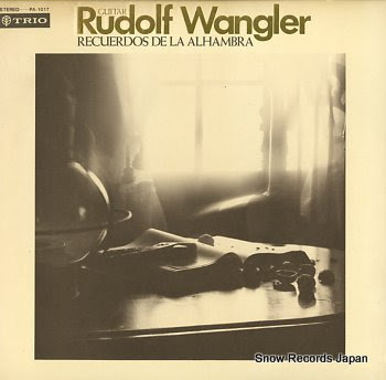 WANGLER, RUDOLF recuerdos de la alhambra