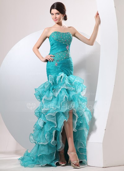 5 Fun Trumpet Or Mermaid Style Prom Dresses For 2014 A