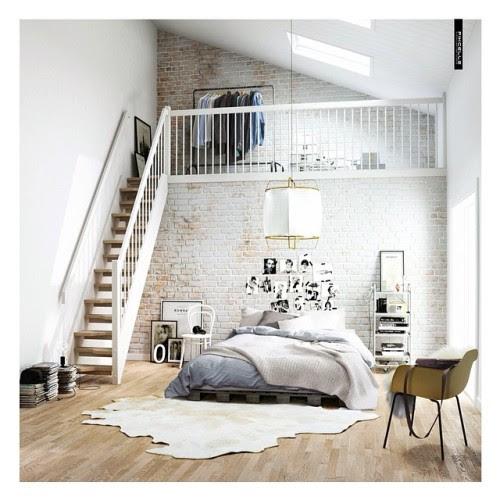 monochromatic bedroom | Tumblr