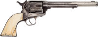 Handguns:Single Action Revolver, The Most Thoroughly Documented Jesse James Gun Ever to Appear atAuction: Colt Single Action .45 Caliber Revolver, Identified ...