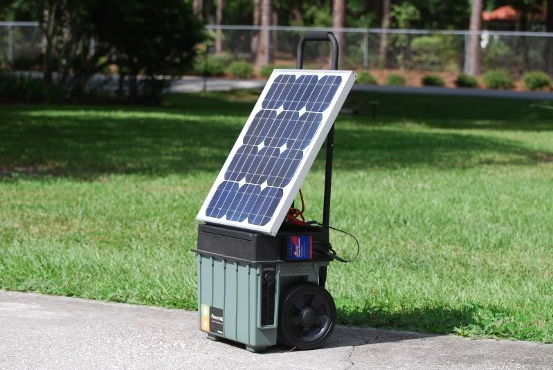 this cool DIY portable solar generator with XPower Powerpack project