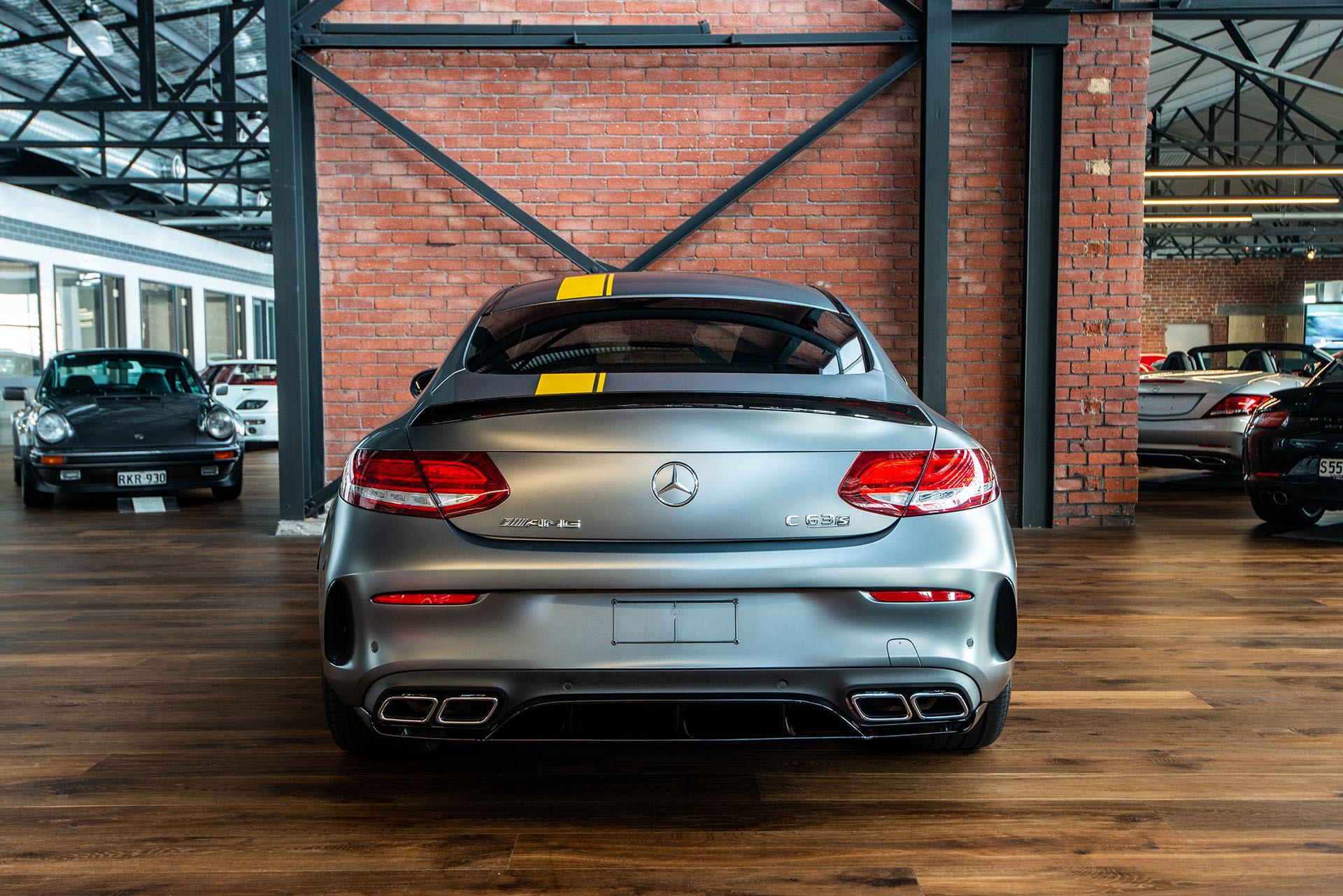 Mercedes amg c63s coupe edition 1 (23) - Richmonds ...