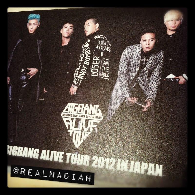 Pamphlet BIGBANG ALIVE TOUR JAPAN