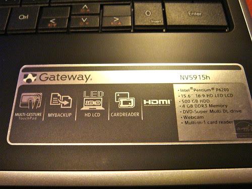 Gateway NV5915h