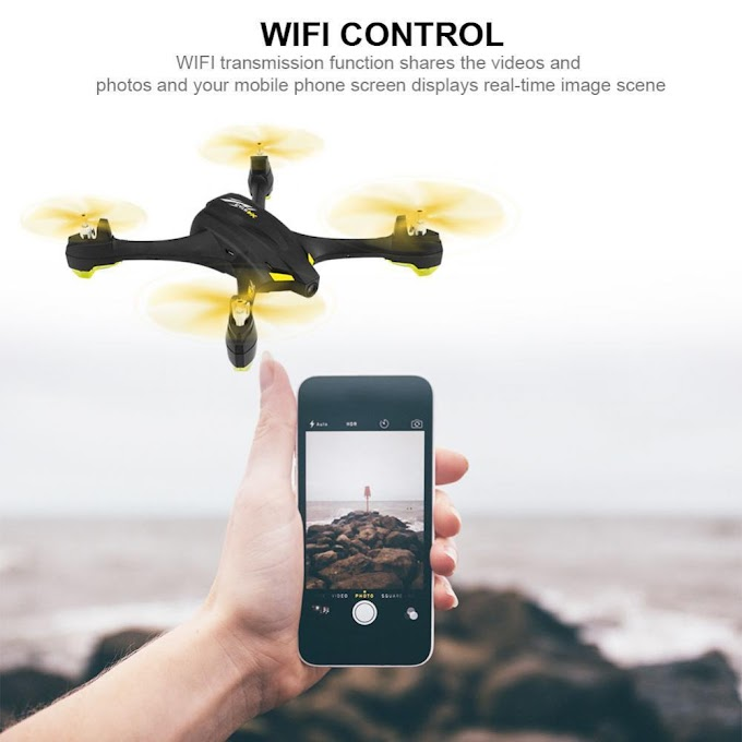 Hubsan X4 STAR H507A App Compatible Wifi FPV RC Drone With 720P HD Camera GPS RC Headless Quadcopter RTF with Transmitter Relay