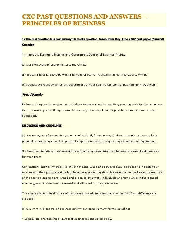 5 INFO CXC ENGLISH B SAMPLE ANSWERS DOWNLOAD PDF DOC ZIP