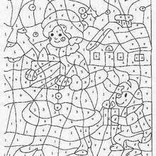 Coloriages Les Cadeaux De Noel Frhellokidscom