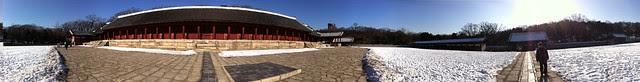 Jongmyo Shrine Panorama