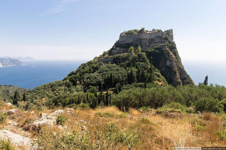 Крепость Ангелокастро, Корфу, Греция