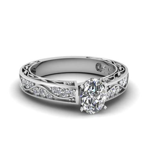Large Selection Of Oval Cut Diamond Engagement Rings