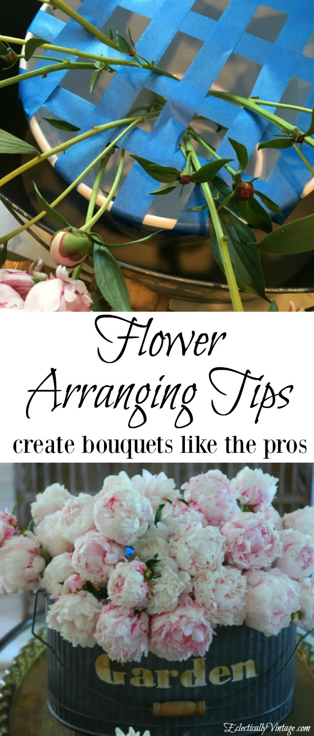 Flower Arranging Tips For Stunning Bouquet