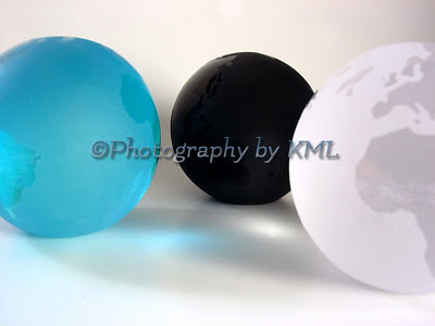 glass globes concept of the www