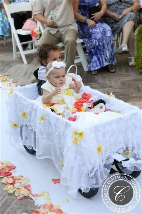25  Best Ideas about Flower Girl Wagon on Pinterest   Ring