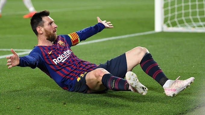 Messi under attack after scoring two goals in Barcelona's 3-0 win over Liverpool
