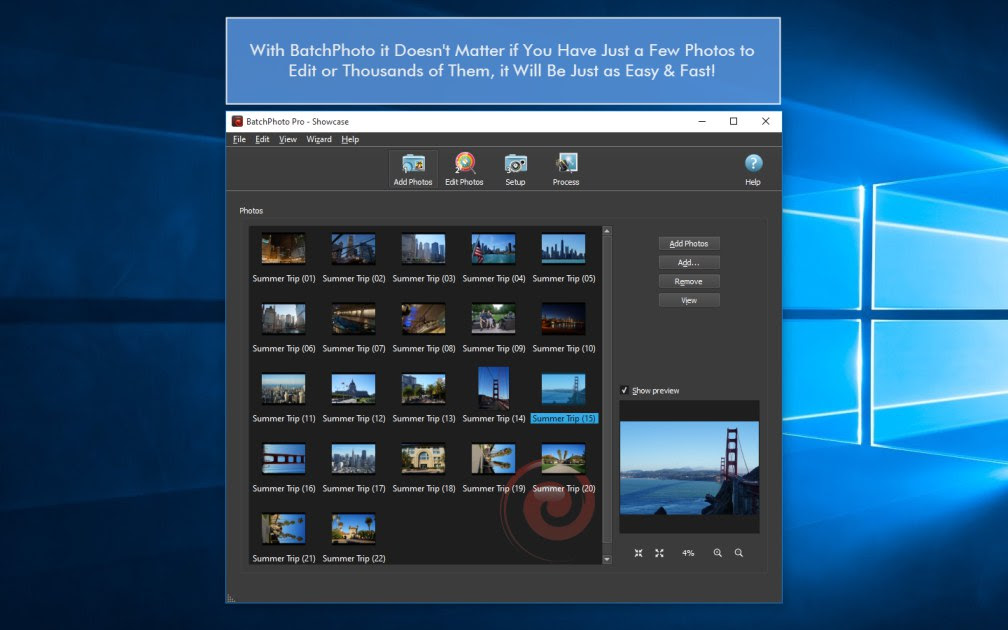 Top 10 Batch Photo Editing Apps for Windows  BatchPhoto