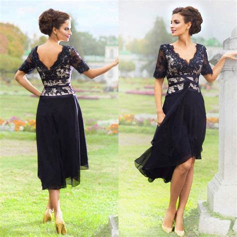 New Arrival Navy Blue 2016 Elegant Country Mother Of The