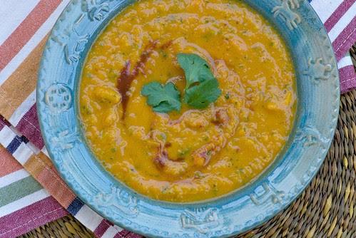 chipotle chili butternut squash soup