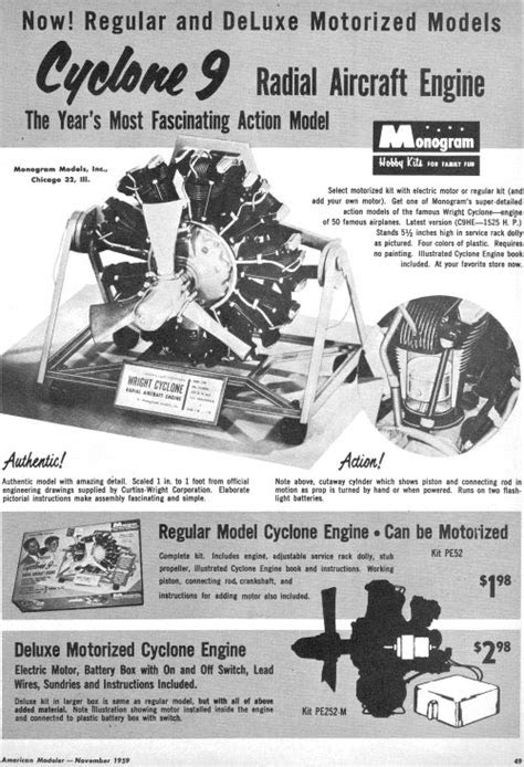 The Wright Cyclone 9 Radial Aircraft Engine - Airplanes