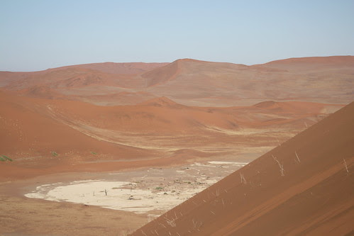 The view from Big Daddy - Sossuvlei