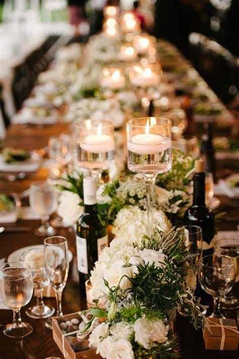 Simply Chic California Wedding   MODwedding