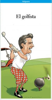 El golfista