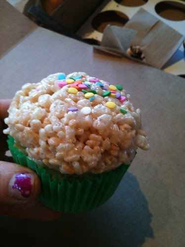 Rice Krispie cupcake, Cupcake, Minneapolis