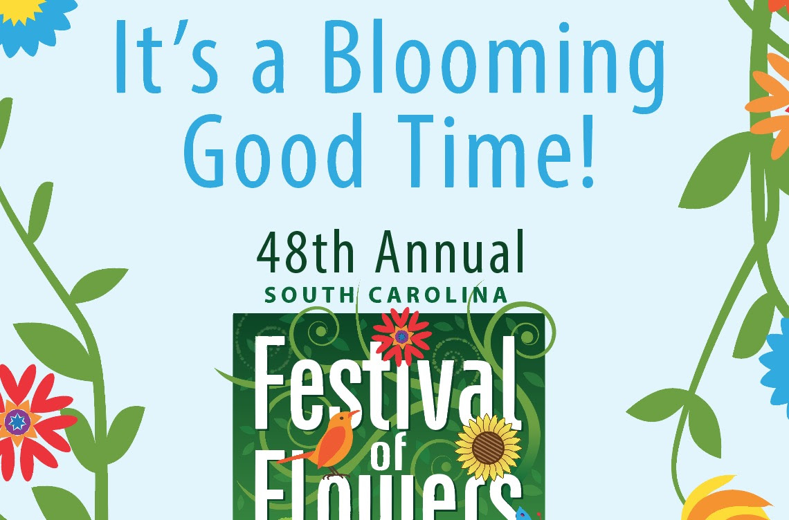 Sc Festival Of Flowers Poster Design Long Cane Photography