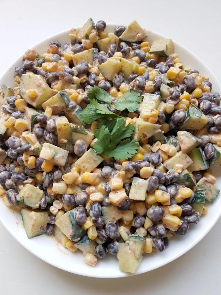 Chipotle Black Bean Salad - Mouth Half Full