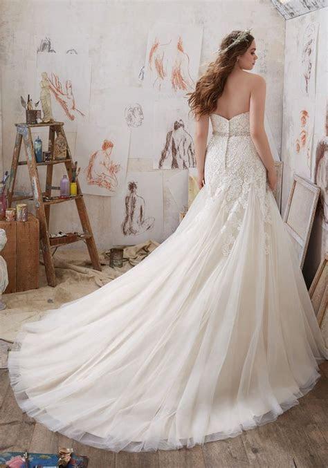 Mori Lee ? Julietta Plus Size Wedding Dresses   Deer Pearl