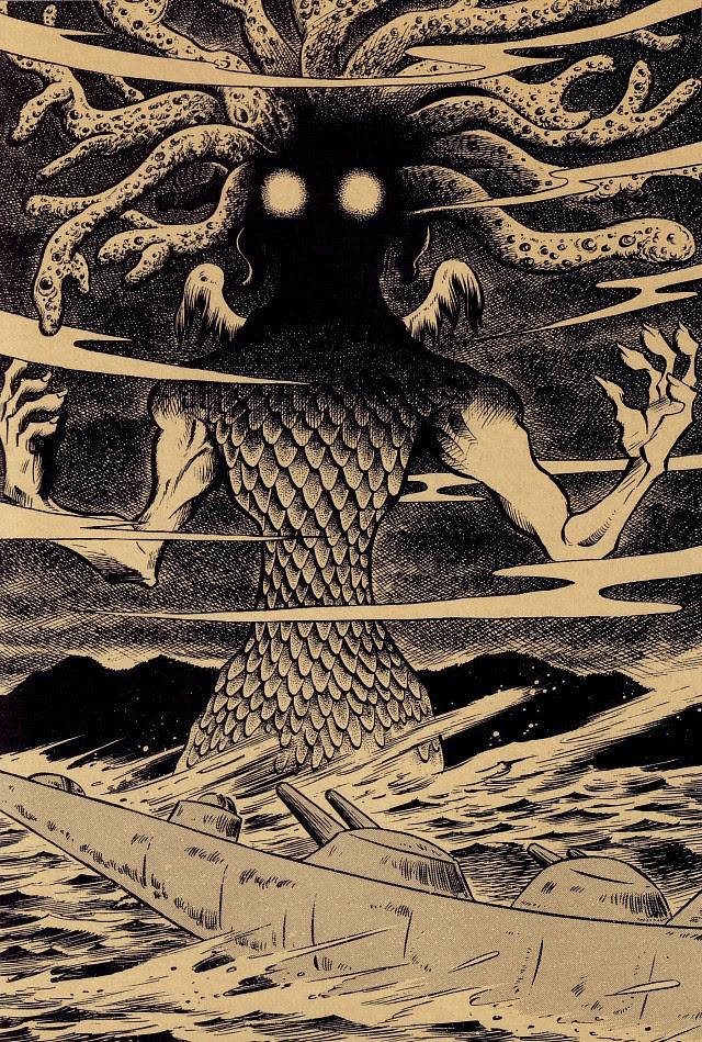 Tatsuya Morino - The Call of Cthulhu - H.P. Lovecraft, 1926