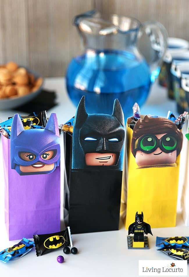 LEGO Batman Movie Birthday Party Printables Treat Bags 650x951