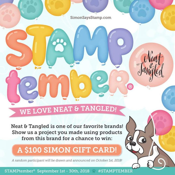 STAMPtember Neat and Tangled
