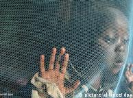 Hasta 2008, la OMS distribuyó casi 140 millones de mosquiteros en África para proteger a las personas mientras duermen.