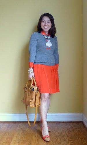 orange puffin