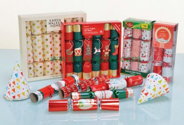 Wholesale Products Party Popper Bon Bons Decorated Christmas Cracker With Small Gifts For Sale Christmas Gifts Manufacturer From China 108691295